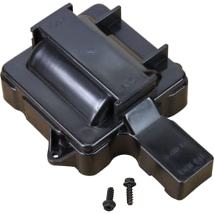 V6 HEI Distributor Replacement Coil Cover - Black