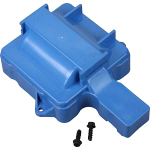 V6 HEI Distributor Replacement Coil Cover - Blue