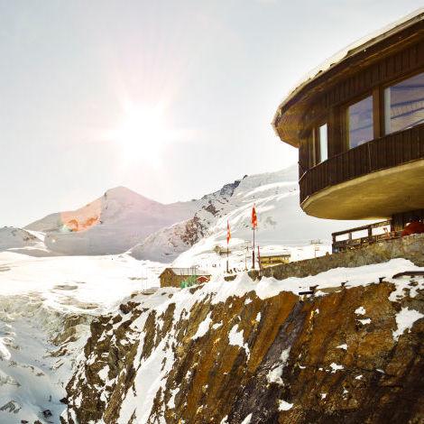 Mountain restaurant Längfluh