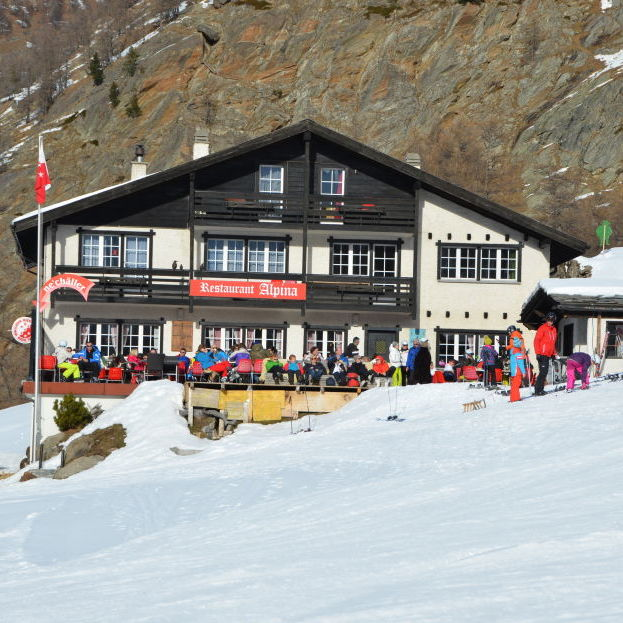 Mountain restaurant Alpina