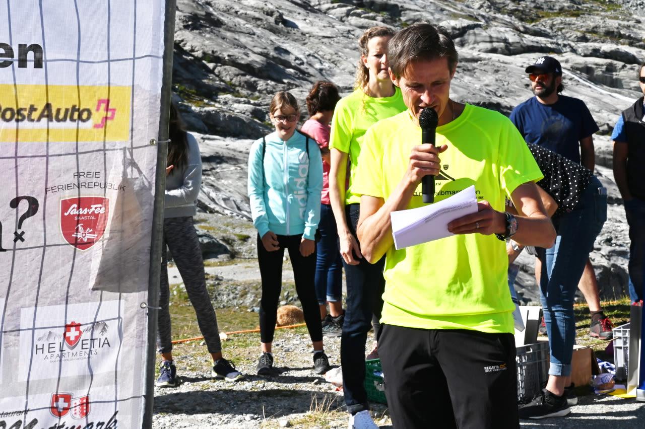Mattmark semi-marathon