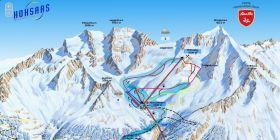 Interactive map Saas-Grund