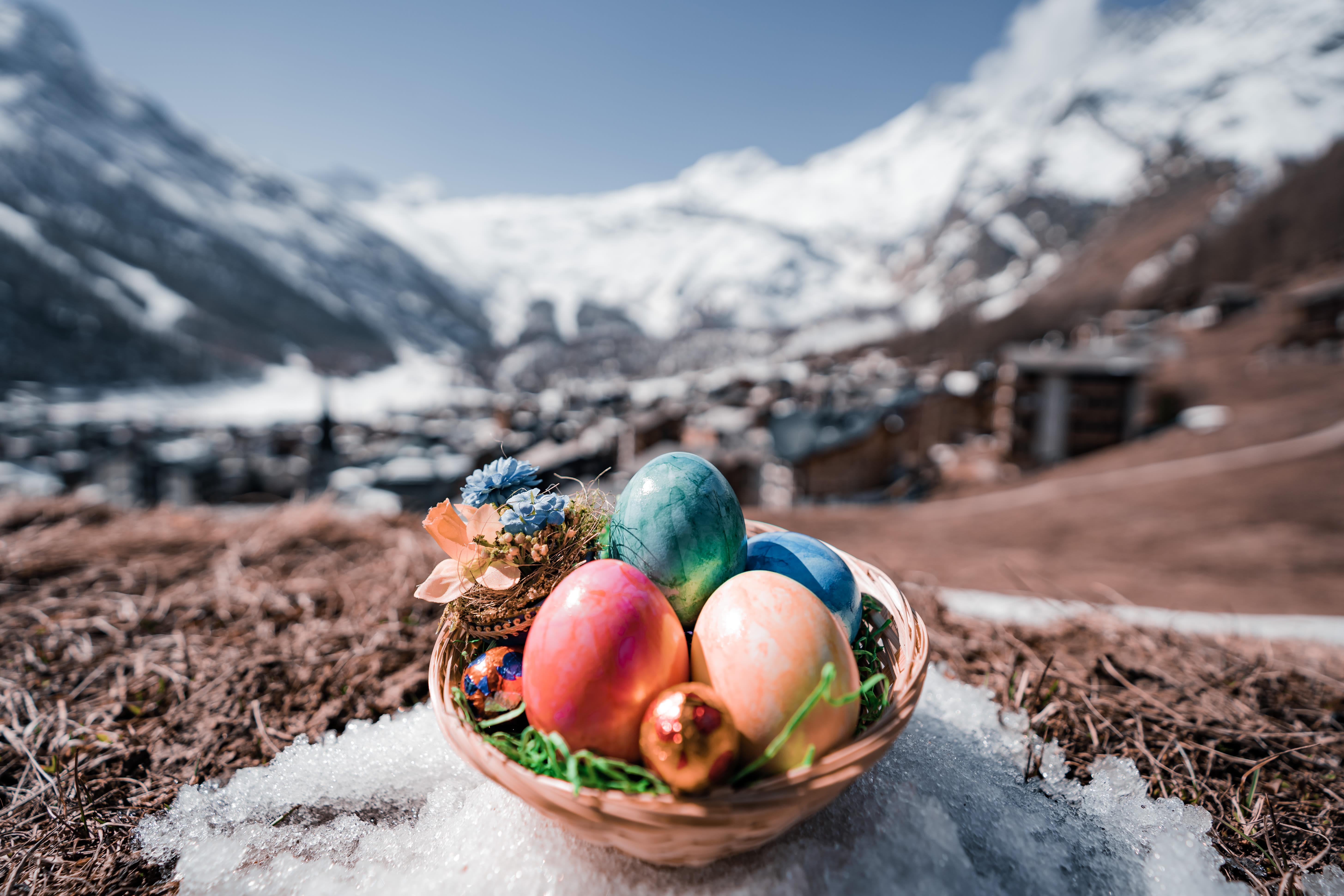 Saas Valley Easter nest hunt