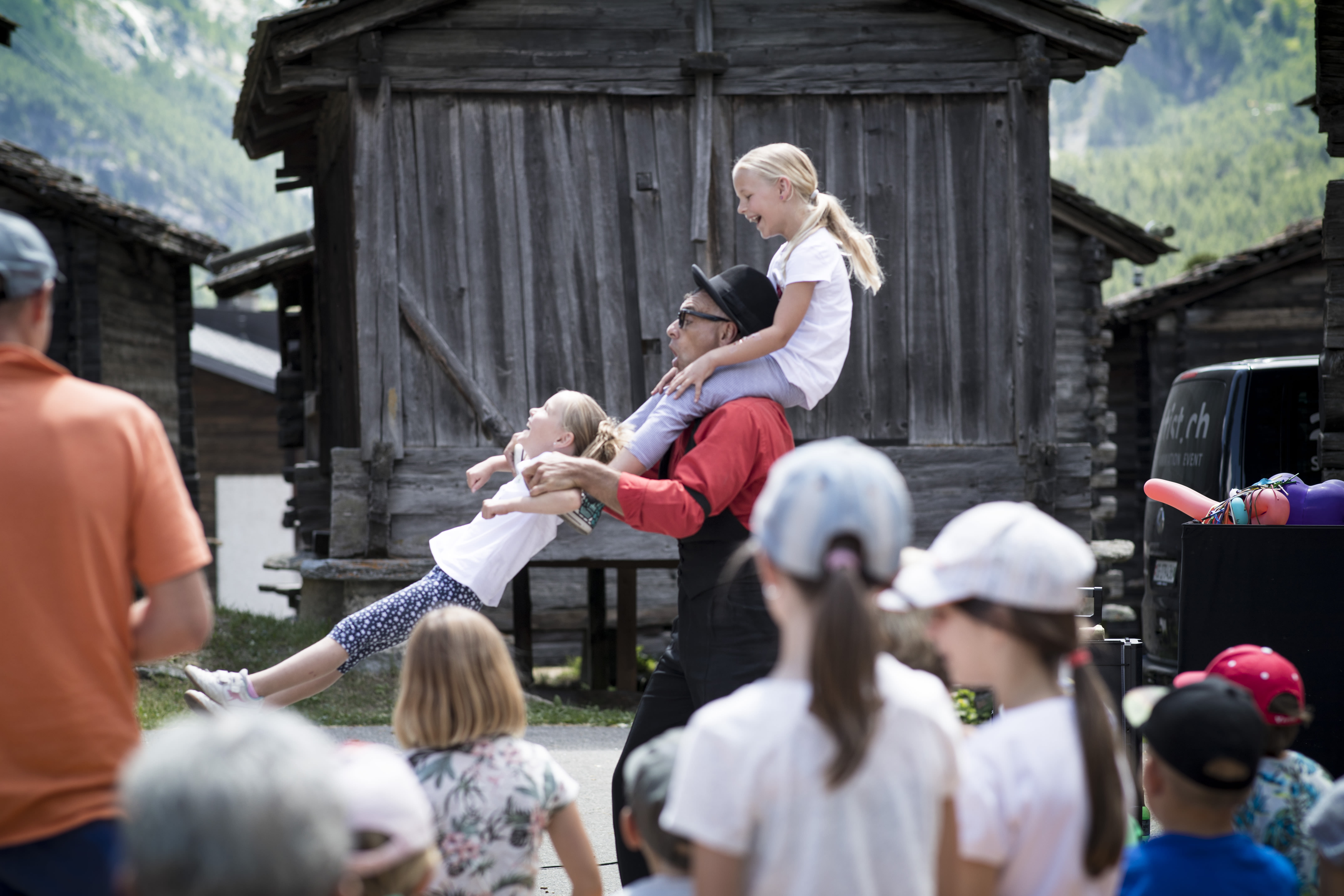 Familienaktivitäten im Sommer