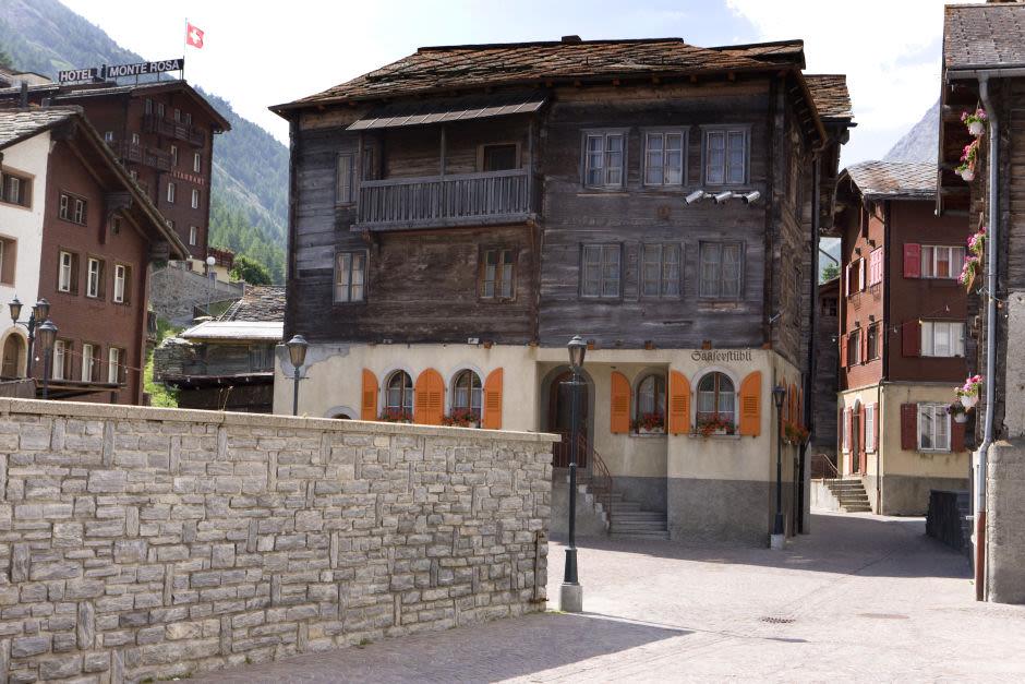 Altes Dorf Saas-Grund
