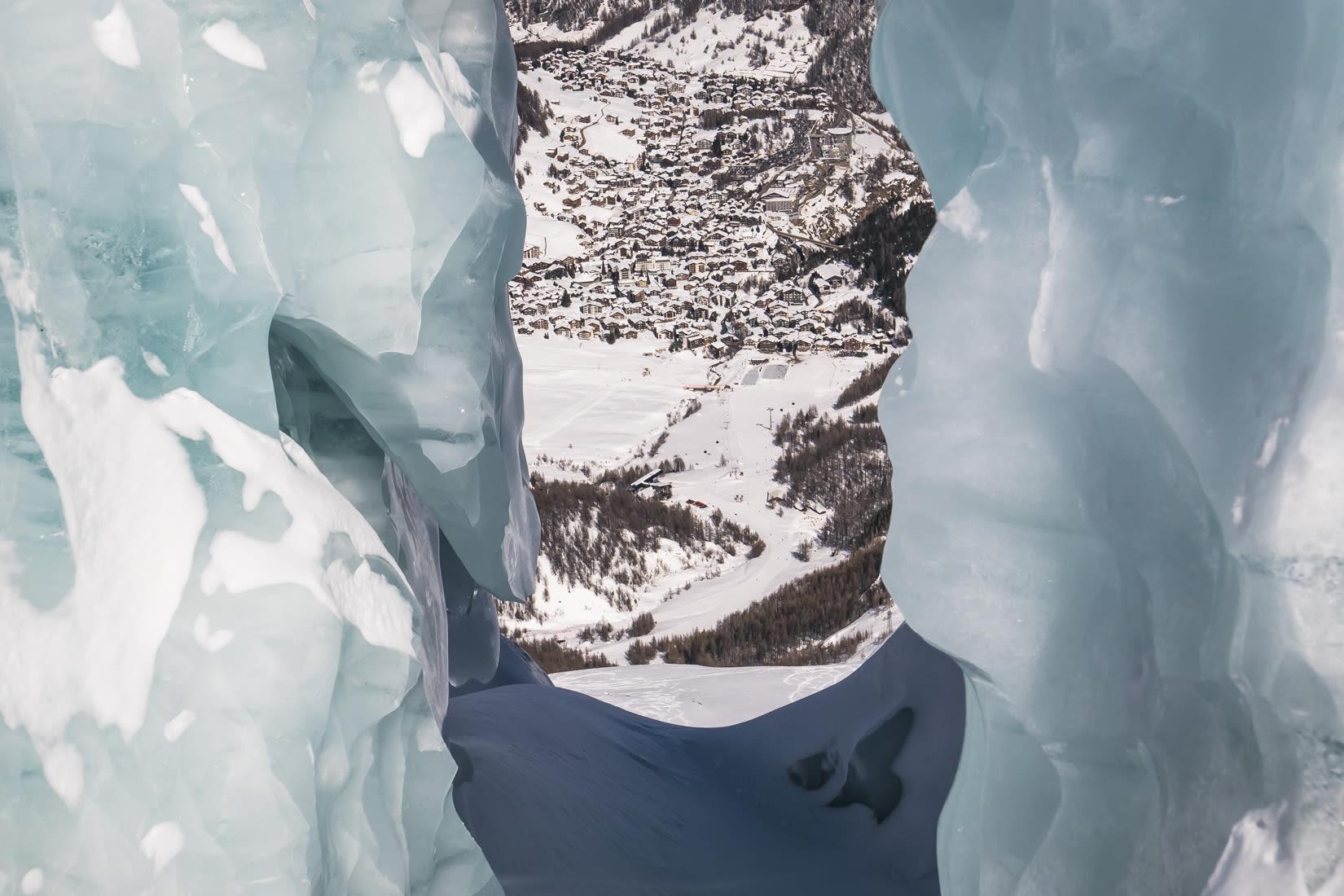 Excursions on the glacier