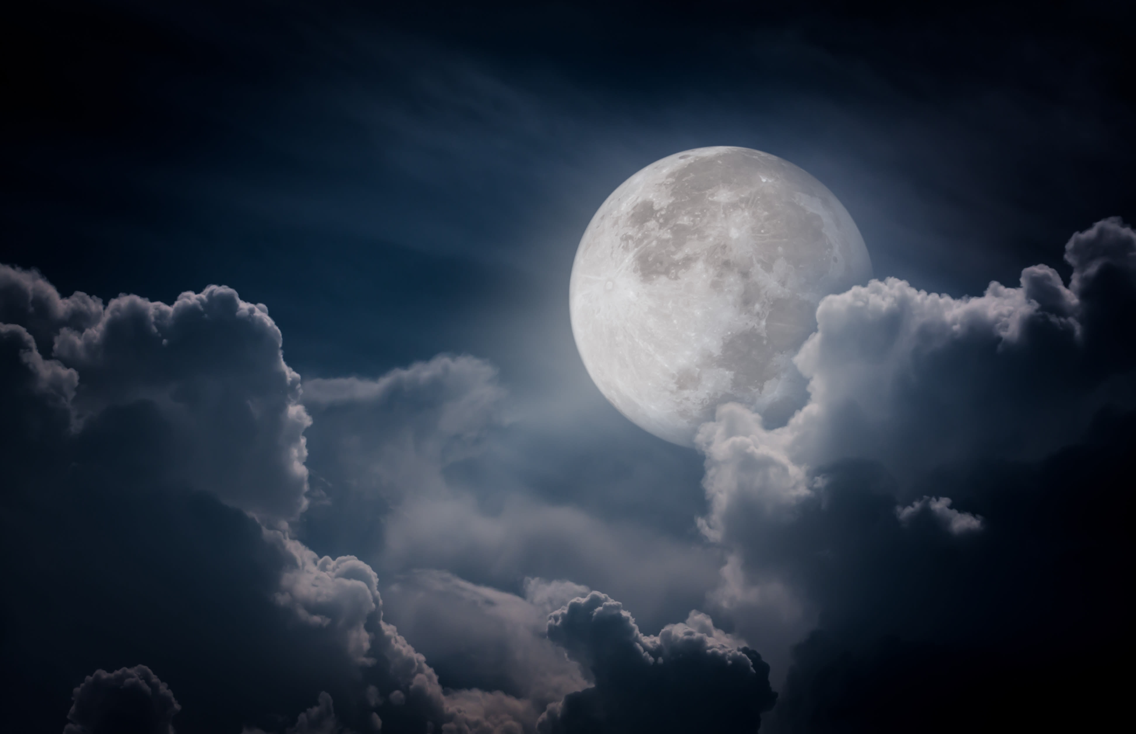 Ski par pleine lune