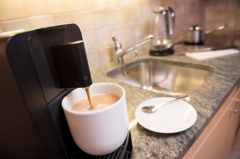 Kaffee-Kapselmaschine