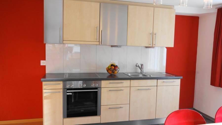 Wohnküche mit Südbalkon
