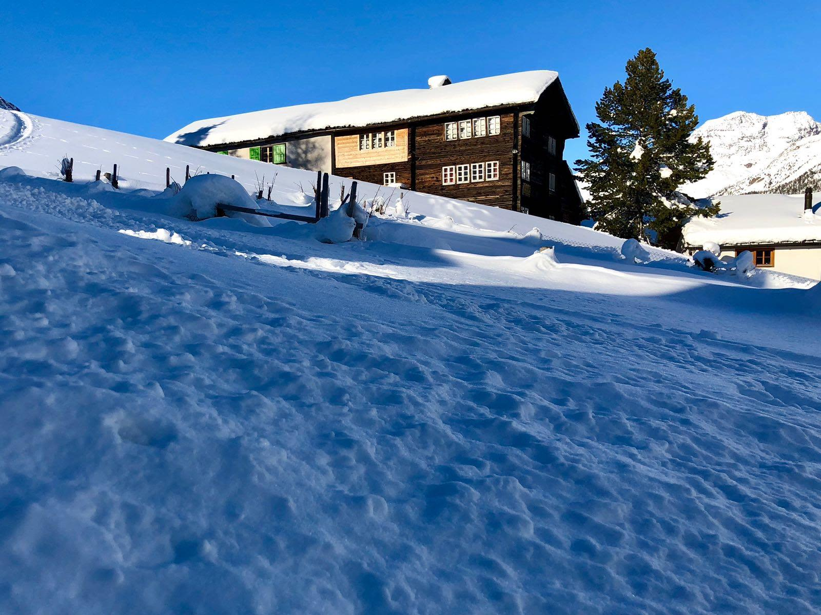 Haus Bergruh winter