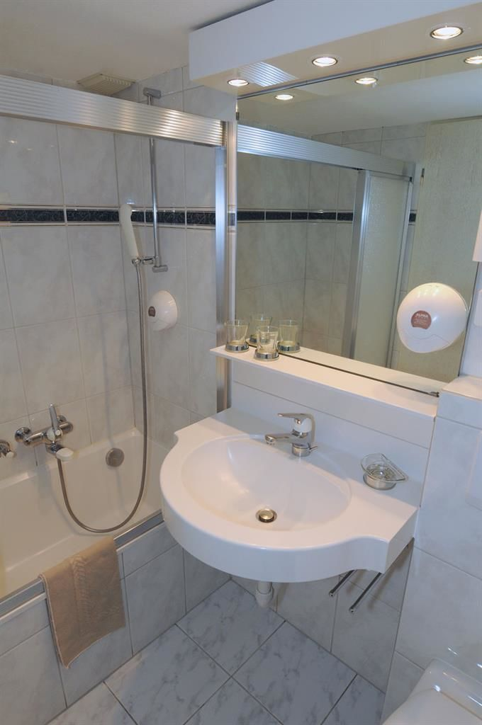 Badezimmer Hostelzimmer