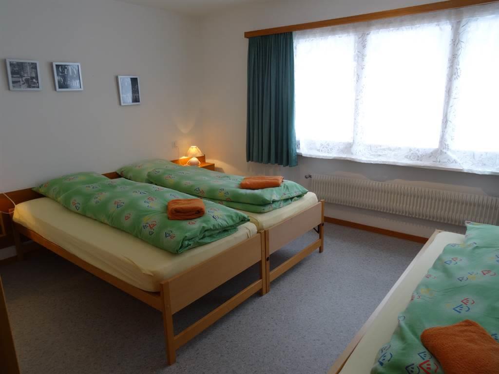 Apartments Carmena Saas-Grund Dreibettzimmer Wohnu