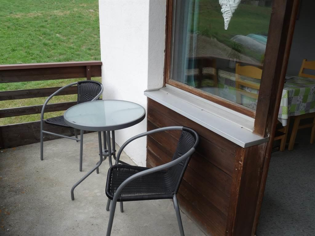 Sitzplatz auf dem Balkon