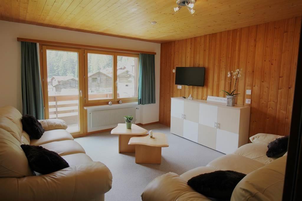Wohnzimmersicht Wohnung 7