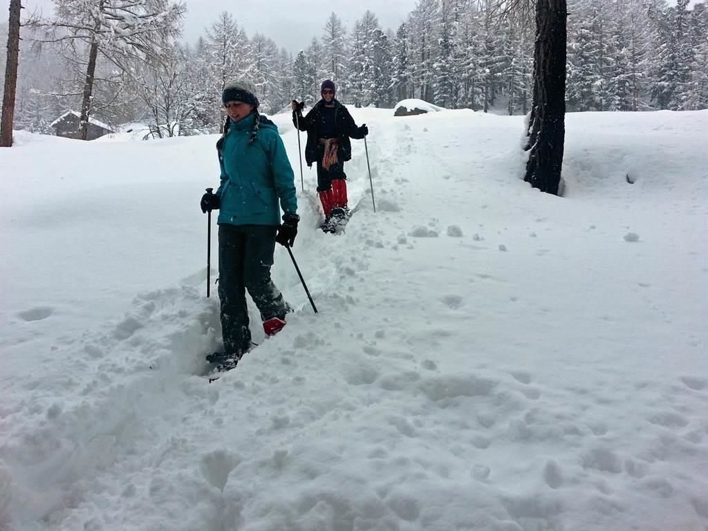 Schneeschuh Touren Saastal