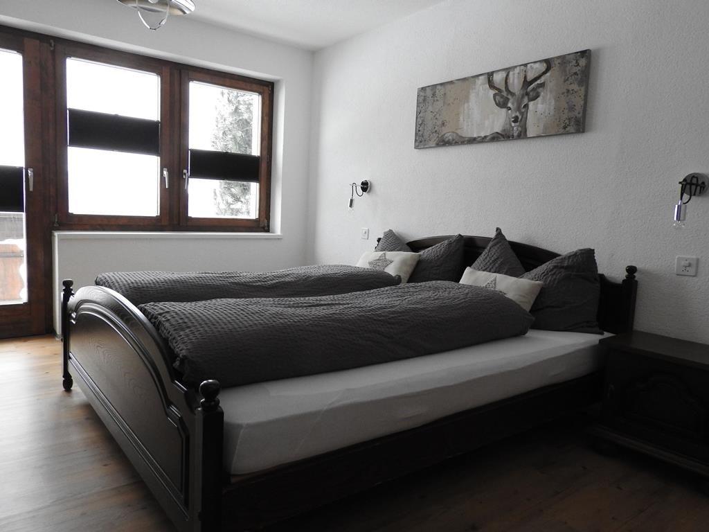 Schlaffzimmer 2 mit Doppelbett