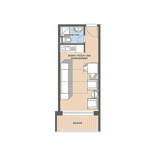 Arizona_1_Zimmerwohnung