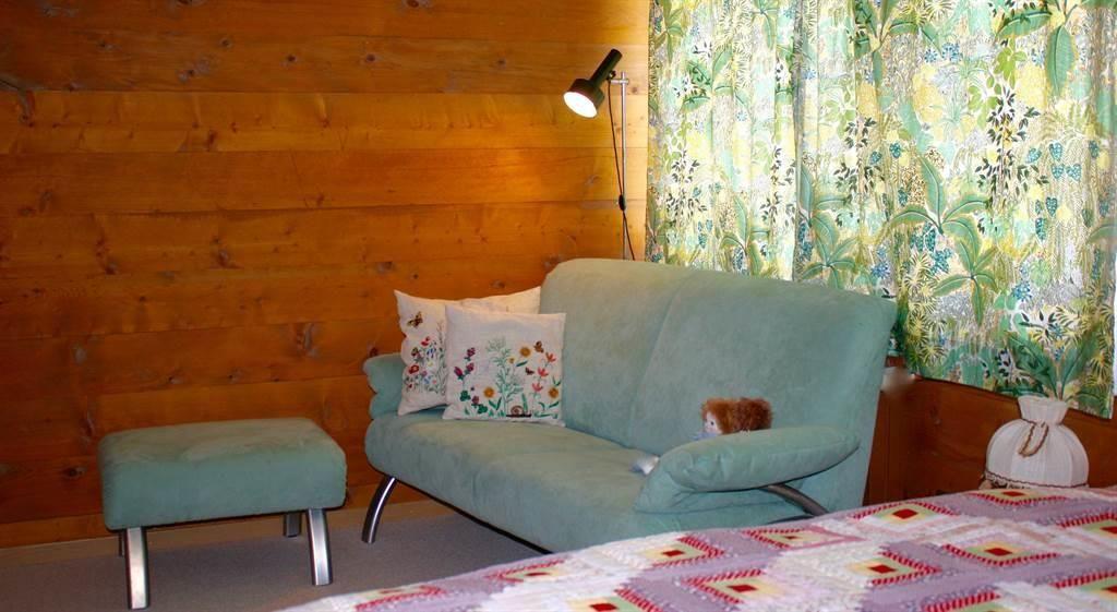 Haupt-Schlafzimmer Sitzecke
