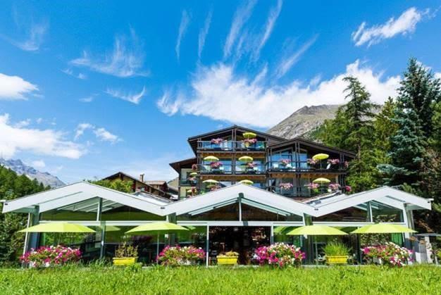 Wellness Spa Pirmin Zurbriggen Hotel Sommer