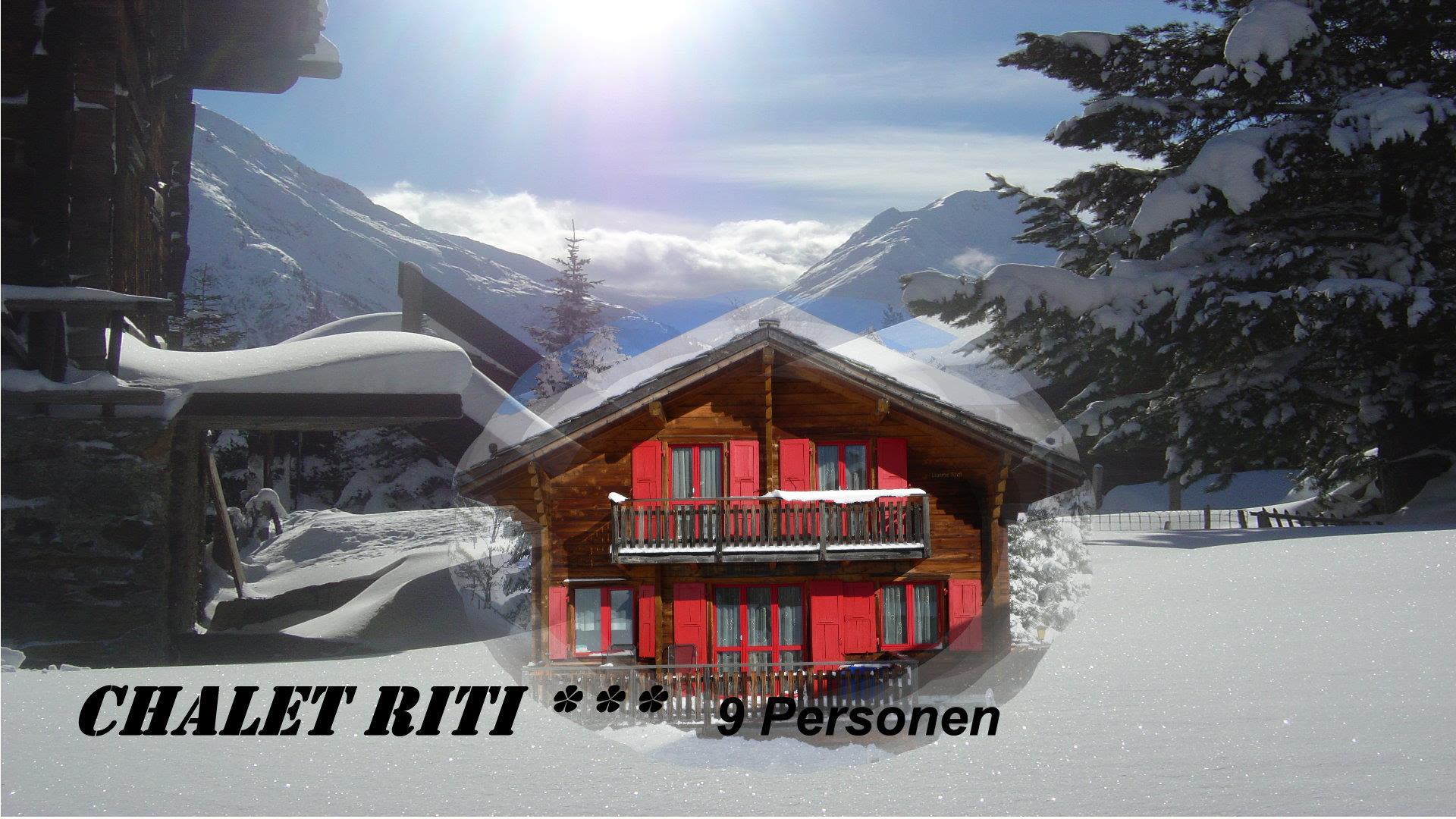 0.1 Chalet Riti Frontbild Winter