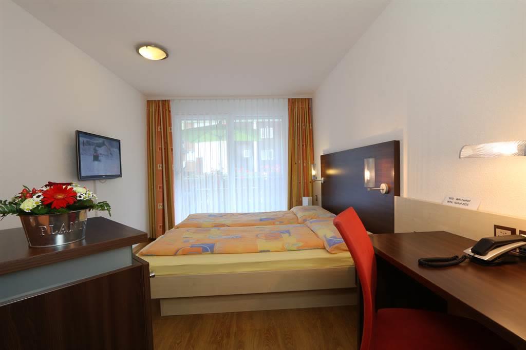 Schlafzimmer 2-Zimmer-Wohnung
