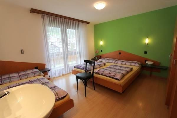 Schlafzimmer, Westbalkon