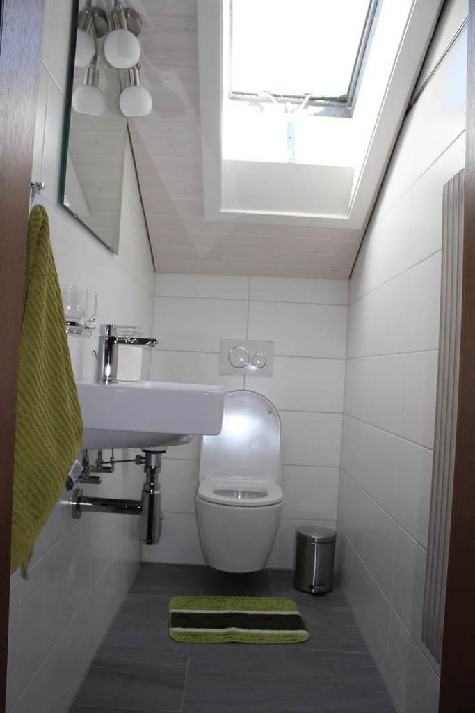neues WC, renoviert 2017