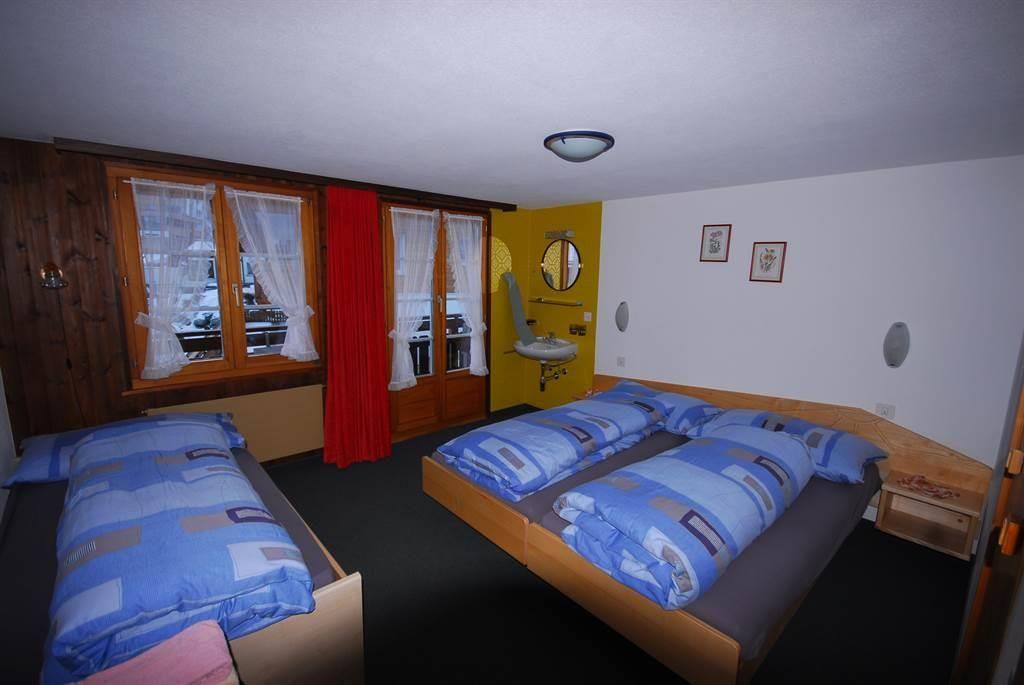 Dreibettzimmer Alpenruh Saas-Fee/Saastal