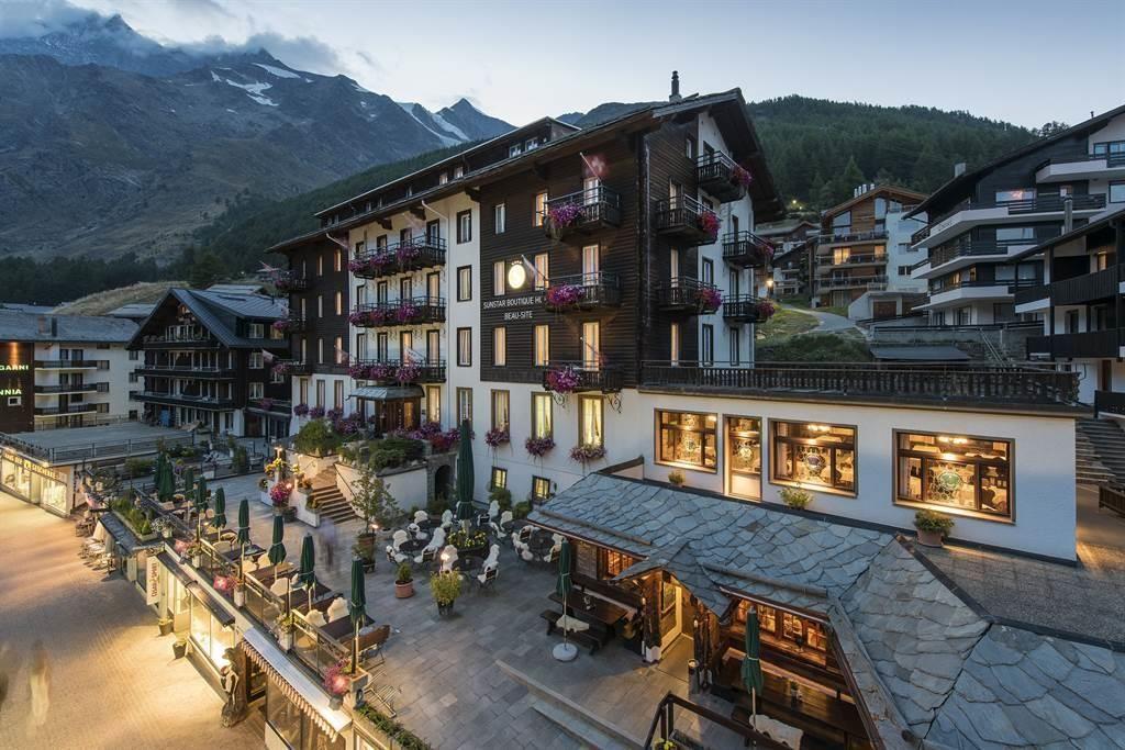 Aussenansicht 1_Sunstar Hotel Saas-Fee Schweiz_s
