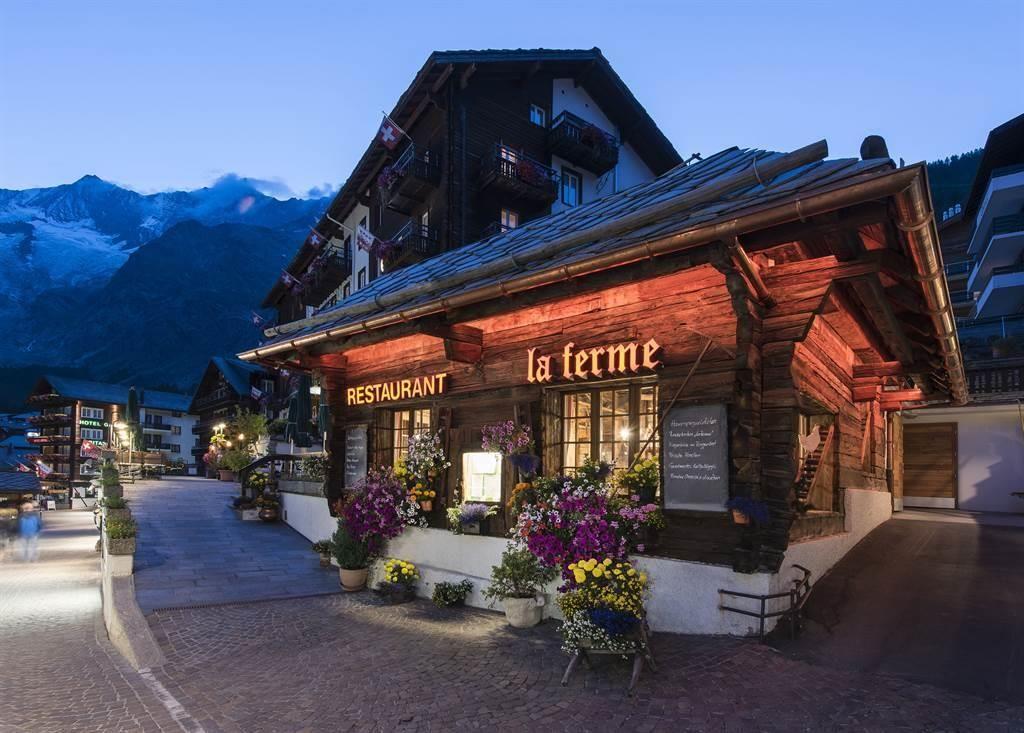 Restaurant La Ferme 1_Sunstar Hotel Saas-Fee Schwe