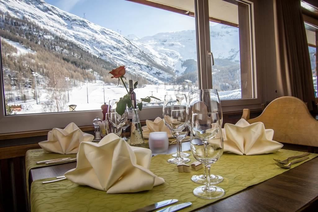 Restaurant mit schöner Aussicht