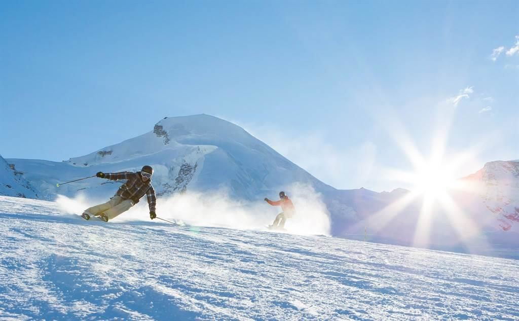 Gletscher Ski Saas-Fee