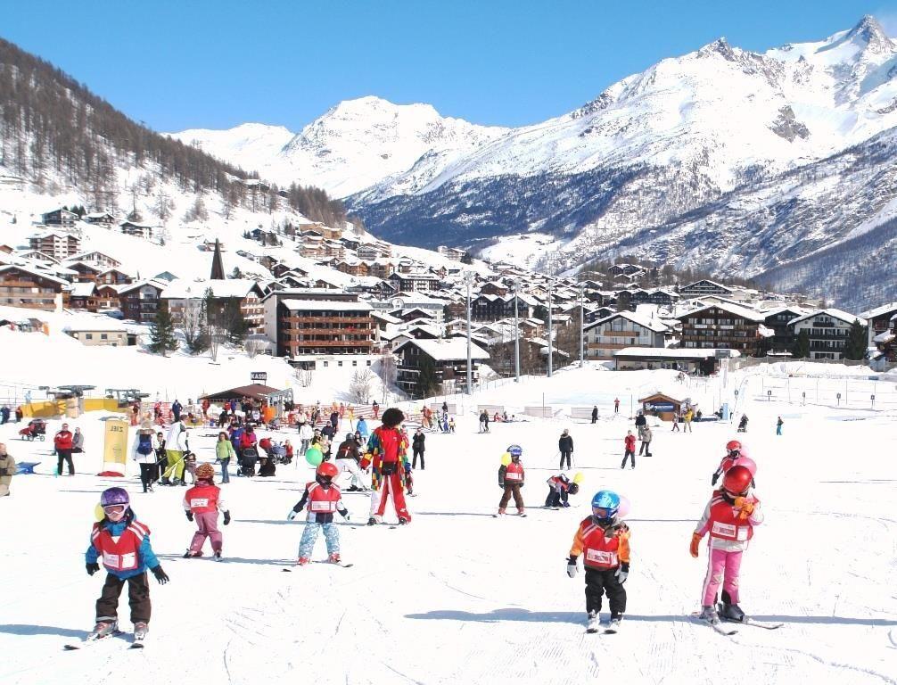 Skischule & Sammelplatz in der Nähe