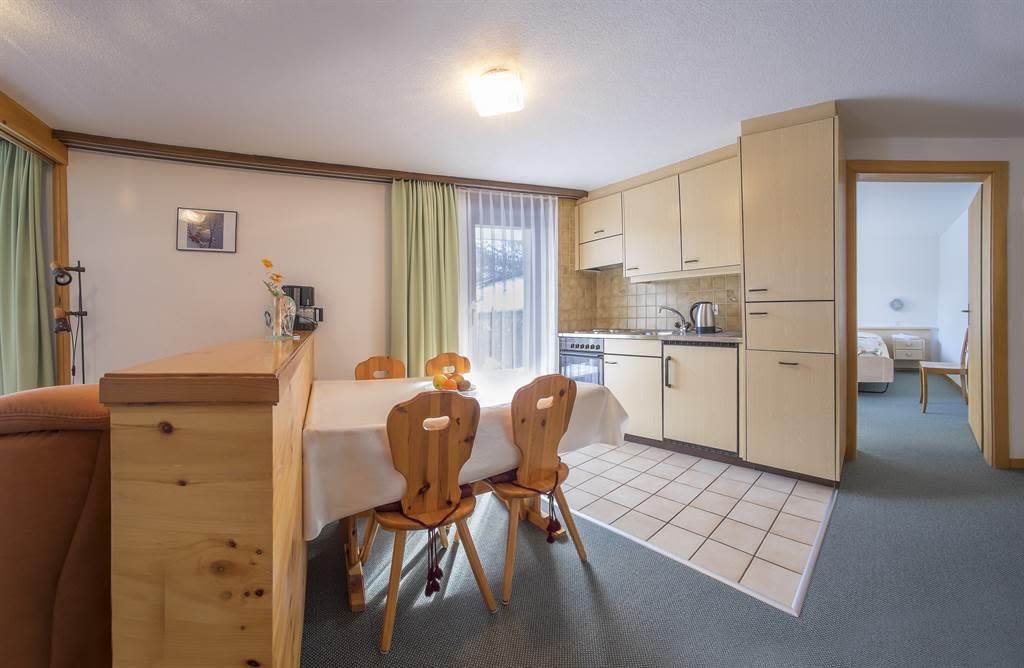 Küche 2-Zimmerwohnung