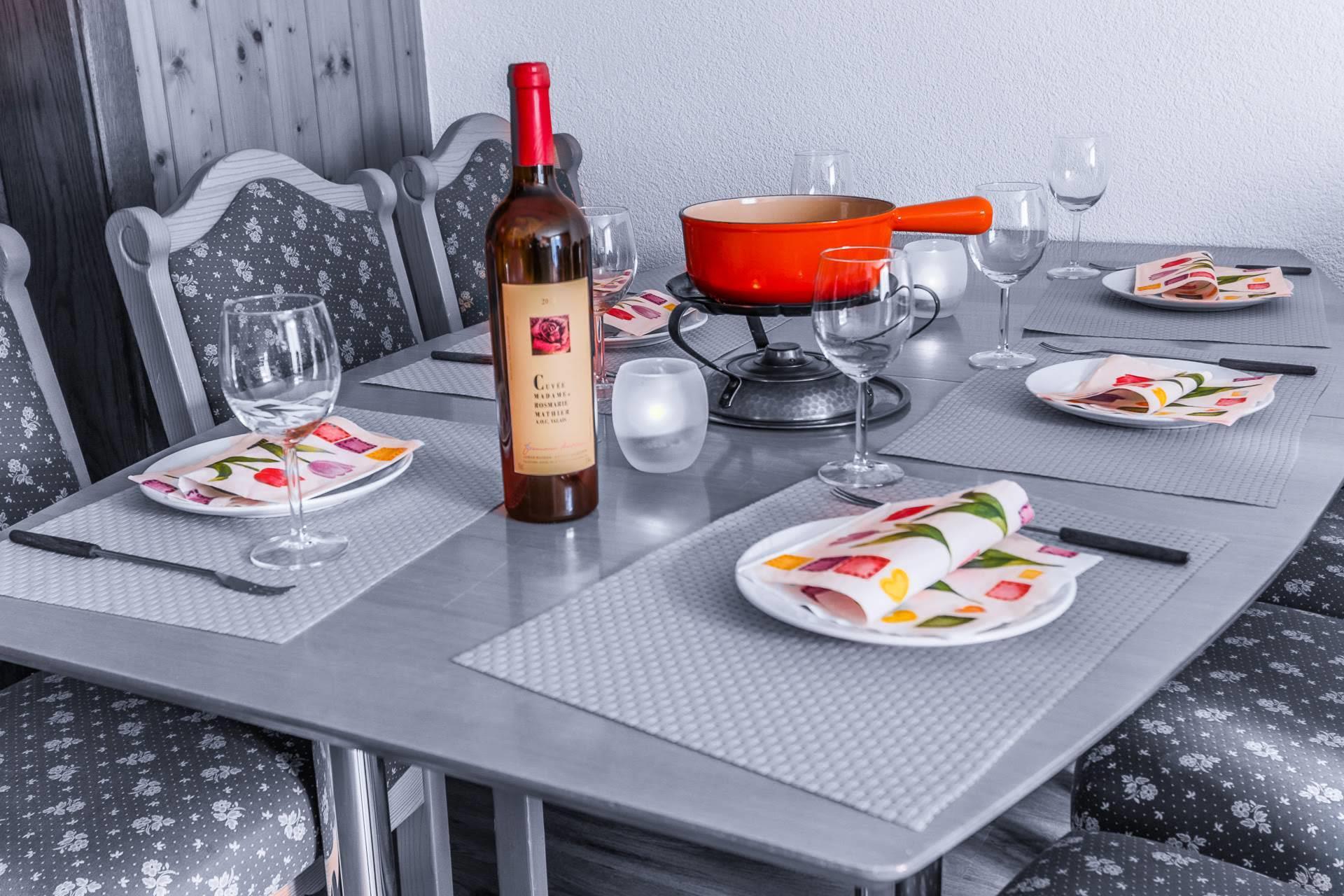 dining room - Nadelhorn - Monte Rosa 3
