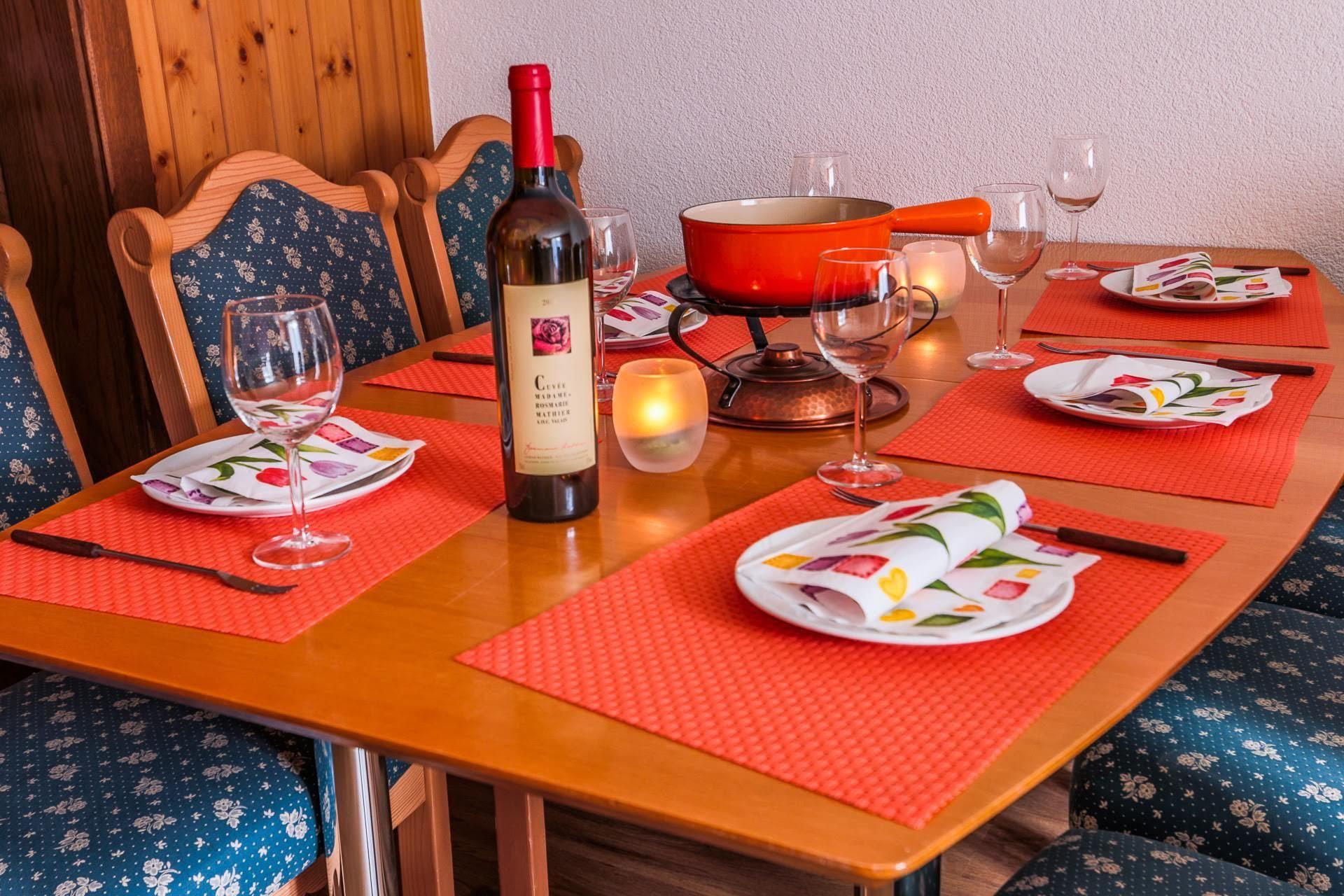 dining room - Nadelhorn - Monte Rosa