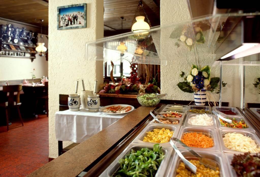 Salatbuffet vom Mattmarkblick