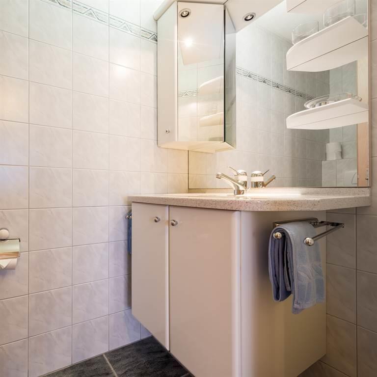 Dusche/WC - Waschtisch