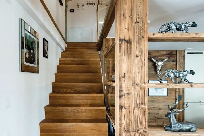 Sonnegg Penthouse Stairs
