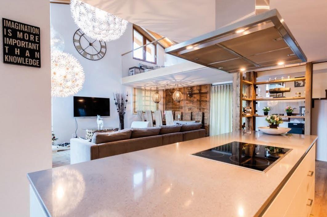 Sonnegg Penthouse Kitchen_Living Room