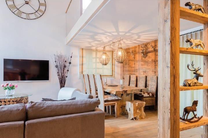 Sonnegg Penthouse Living Room 3