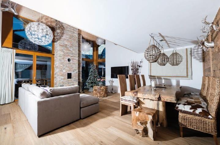 Sonnegg Penthouse Living Room 2