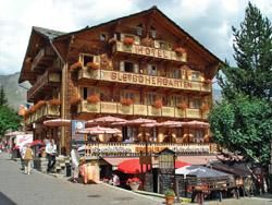 Hotel Gletschergarten aussen
