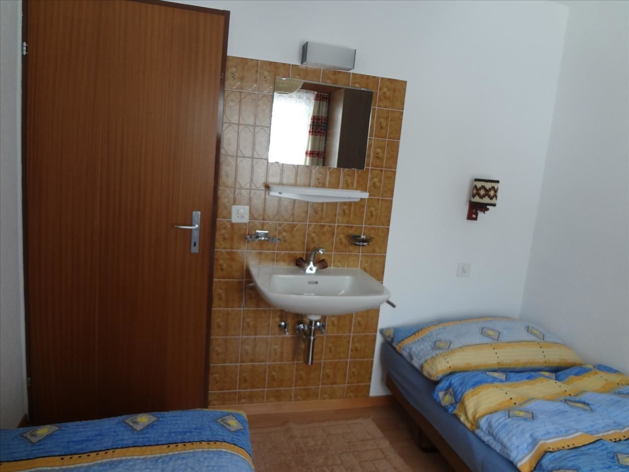 Doppelzimmer mit 2 Betten