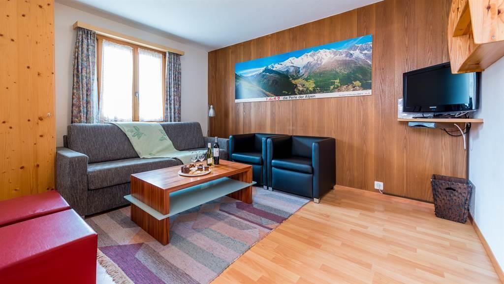 Wohnzimmer Saas-Fee