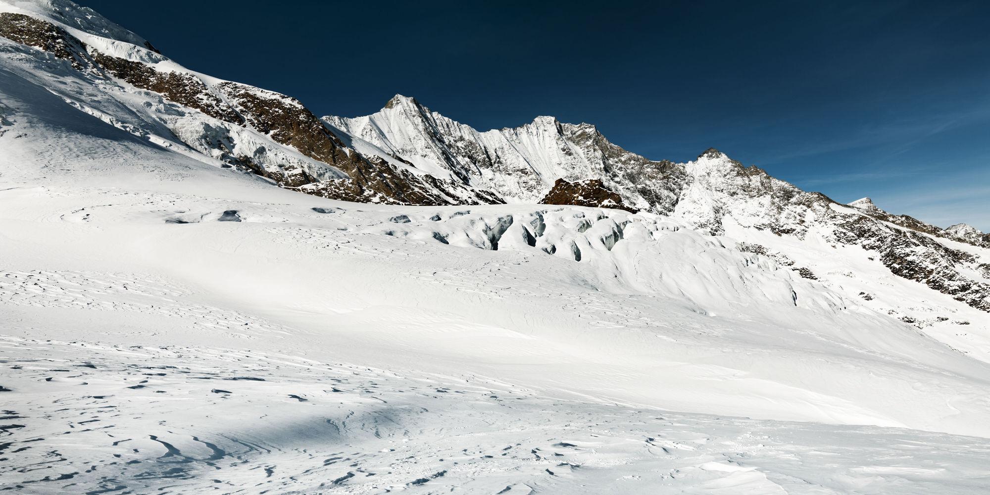 Glacier Saas-Fee
