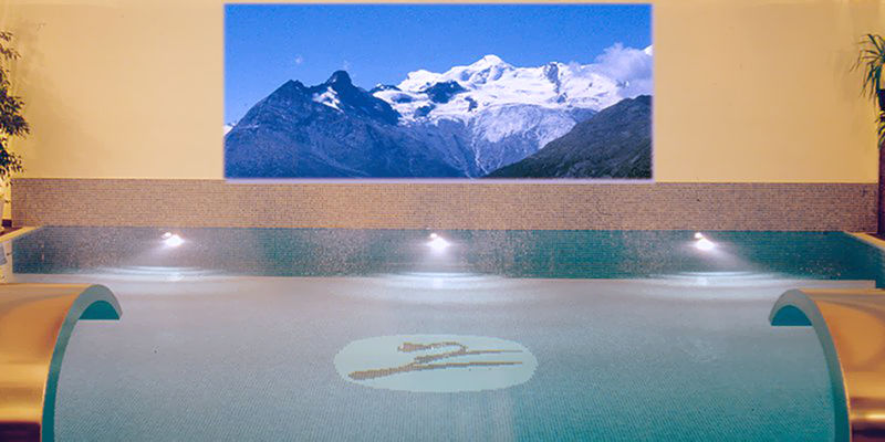 Aqua Gym Fitness in der Freien Ferienrepublik Saas-Fee