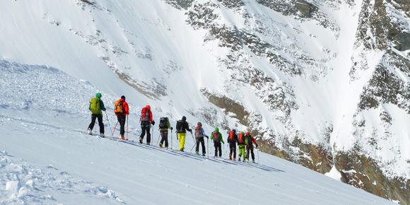 Bergtouren in Saas-Fee