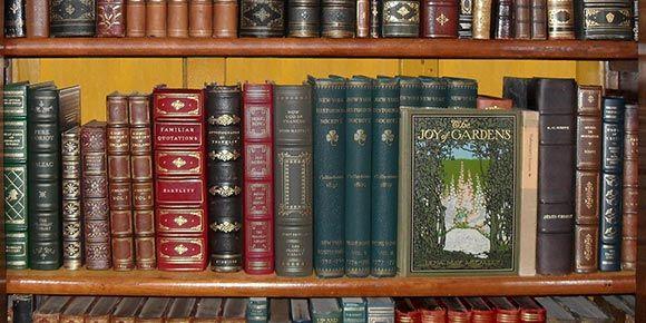 Bibliothek in der Freien Ferienrepublik Saas-Fee