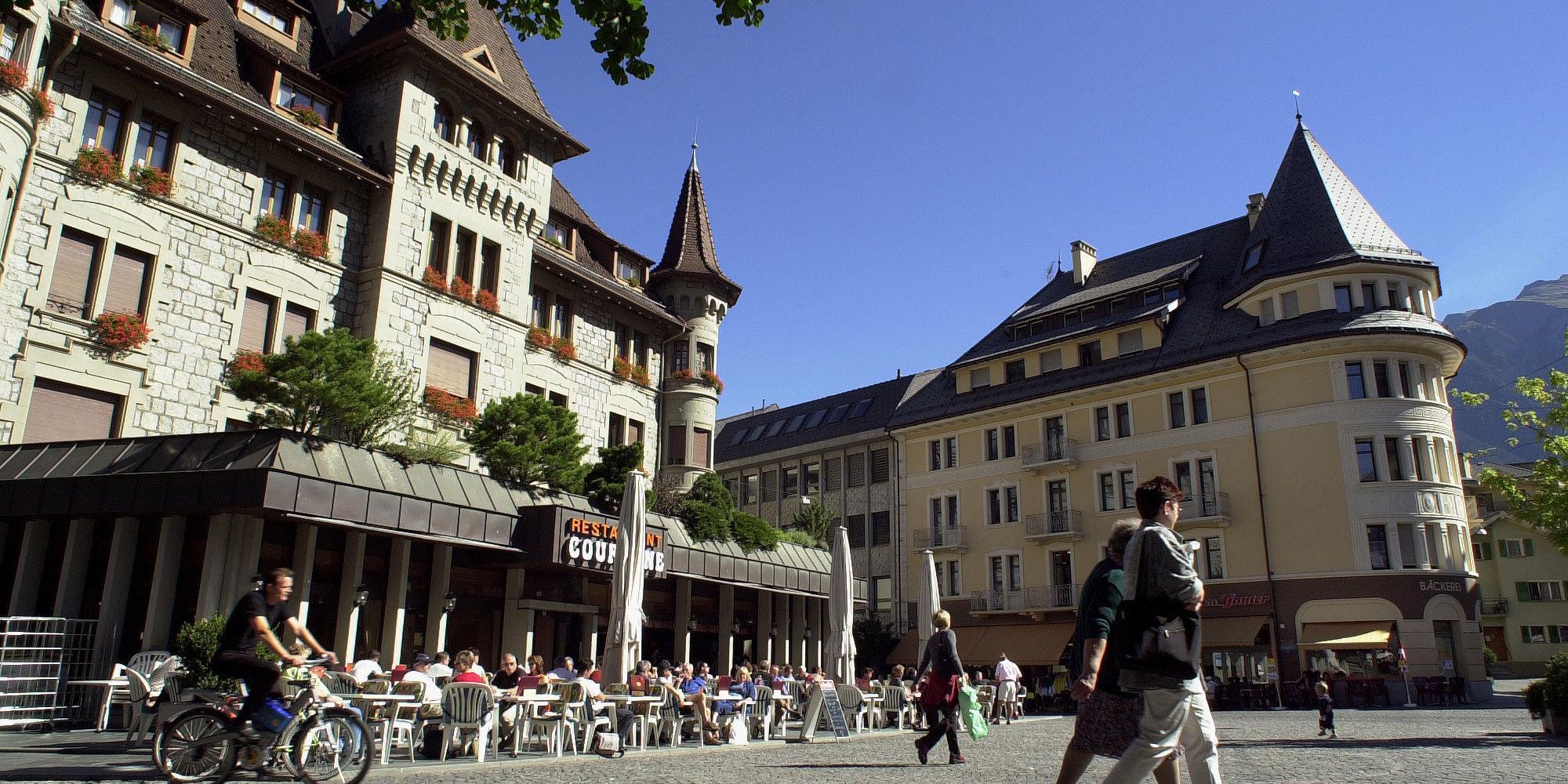 Brig Stadtplatz